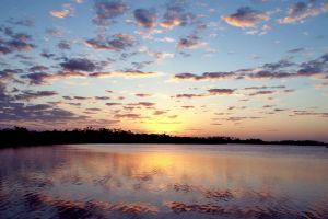 water sky clouds