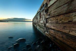 water wood lake