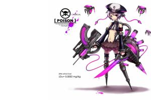 weapon gia anime girls original characters anime