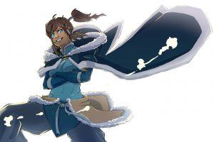 white background anime the legend of korra simple background anime girls korra