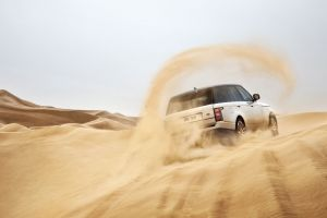 white cars car suv range rover
