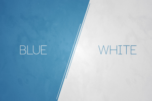 white minimalism abstract modern blue digital art
