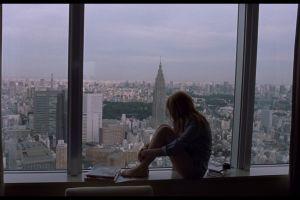 window movies tokyo looking into the distance model lost in translation cityscape scarlett johansson women