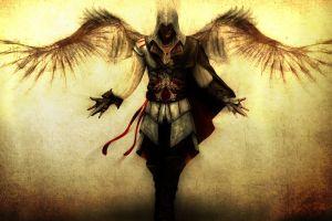 wings assassin's creed ii ezio auditore da firenze assassin's creed video games