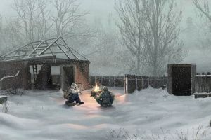 winter video games apocalyptic