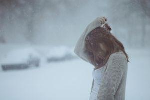 winter women cold outdoors snow women outdoors