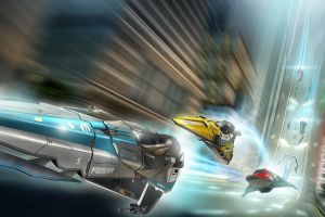 wipeout video games motion blur