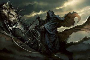 witchking of angmar nazgûl the lord of the rings fantasy art