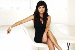 women actress celebrity sitting