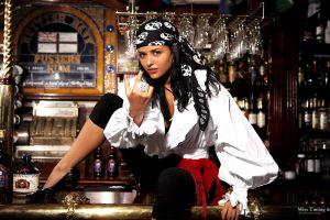 women alcohol miss tuning model pirates