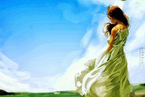 women artwork fantasy art dress