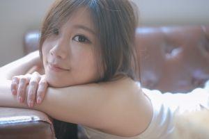 women asian brunette model