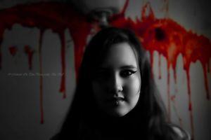 women blood actress face