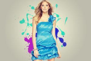 women bracelets blue dress dress kate upton