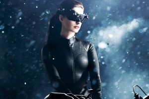women brunette catsuit the dark knight rises anne hathaway catwoman actress selina kyle