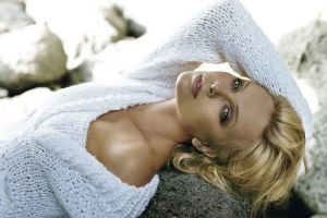women charlize theron celebrity face actress model