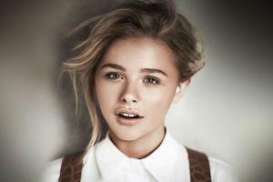 women chloë grace moretz face celebrity portrait actress
