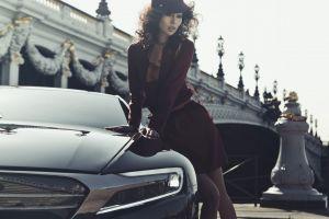 women citroen numero 9 model concept cars