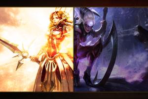 women diana leona (league of legends) league of legends video games
