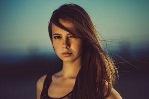 women face 500px brunette danil sigidin