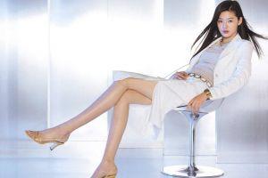 women korean asian model legs