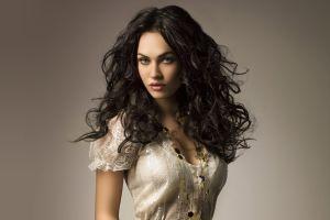 women long hair model actress megan fox