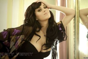 women model katy perry celebrity singer cleavage boobs