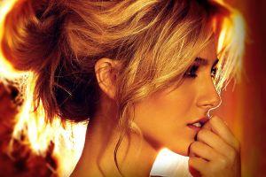 women model peter nguyen profile face blonde portrait kendall mickal