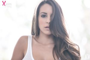 women model shelby chesnes playboy face long hair