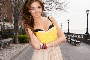 women model smiling miranda kerr bracelets