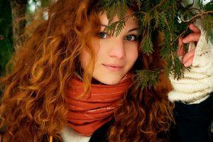 women outdoors women redhead