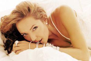 women portrait bracelets angelina jolie face rings actress