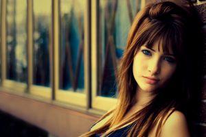 women susan coffey brunette model