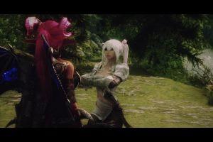 women video games horns sword the elder scrolls v: skyrim