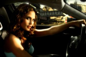 women with cars josie maran need for speed: most wanted