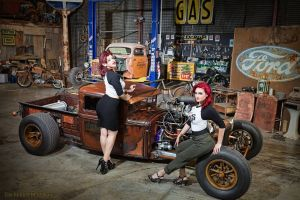 women with cars women pinup models vehicle rockabilly hotrod