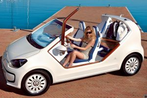 women with glasses cabrio white cars volkswagen blonde model women women with cars