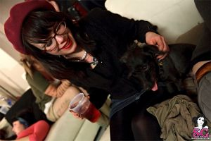 women with glasses dog glasses animals hat suicide girls women pornstar