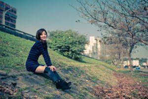 women women outdoors mikako zhang asian