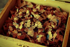 wood boxes brown