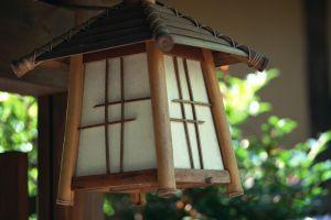 wood chinese lantern