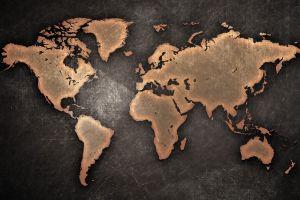 world world map map