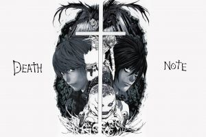yagami light lawliet l anime death note