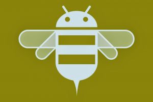 yellow android (operating system) honeycombs