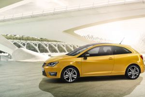 yellow cars car concept cars seat ibiza