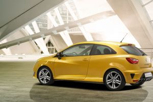 yellow cars concept cars car seat ibiza