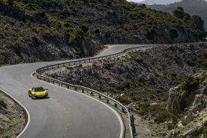yellow cars mclaren mc4-12c road mclaren vehicle car