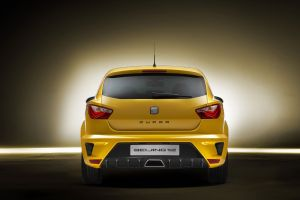 yellow cars seat ibiza concept cars car