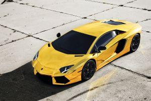 yellow cars vehicle supercars car lamborghini