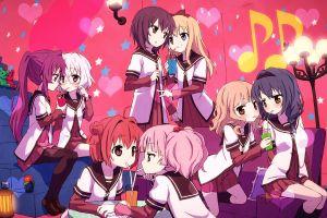 yuru yuri akaza akari anime girls anime